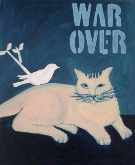 schilderij War over