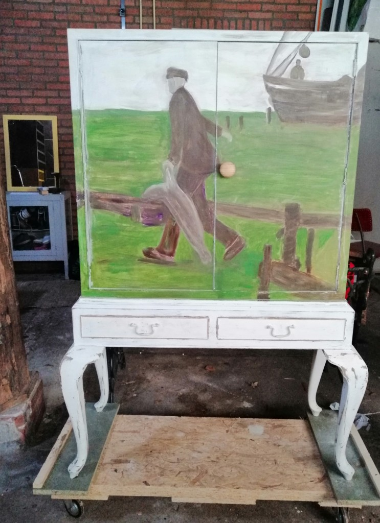 upcycling kast Robbenjagers