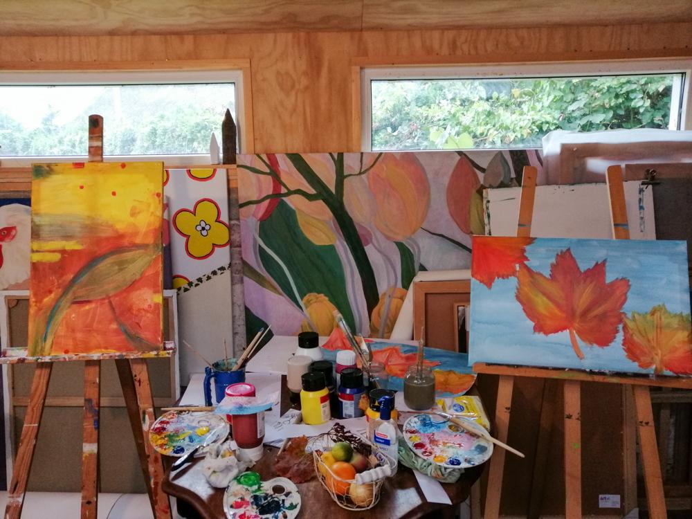 Workshop schilderen - 2020