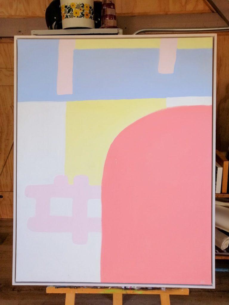 Schilderij Miami